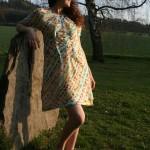 Letní šatičky se spodničkou, bavlna