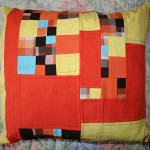 polštář patchwork