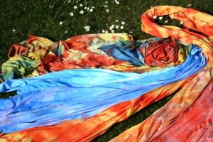 Batika v plném proudu